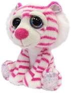 Suki - 11218 Li'l Peepers Rosa Tiger Plüschtier Medium
