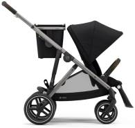 Cybex 'Gazelle S' Buggy 2021 Deep Black, Bügel Taupe