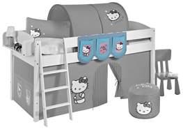 Lilokids 'Hello Kitty' Hängetaschen Türkis - für Hochbett, Spielbett und Etagenbett