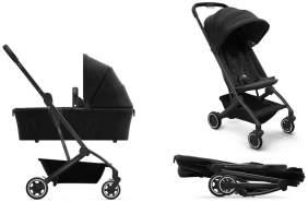 Joolz 'Aer' Kombikinderwagen 2in1 Refined Black inkl. Babywanne