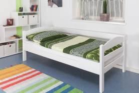 Steiner Einzelbett 'Easy Premium Line K1/n/s' weiß, 90x200 cm