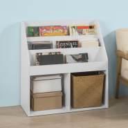 SoBuy Bücherregal für Kinder weiß
