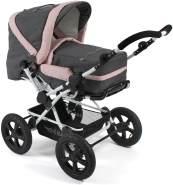 Chic 4 Baby Kombikinderwagen 2 in 1 Viva inkl. Tragetasche Melange rosa