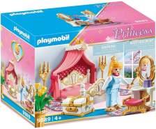 PLAYMOBIL Princess 9889 'Schlafzimmer mit Himmelbett', 43 Teile, ab 4 Jahren