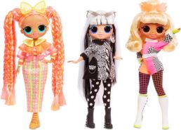 MGA Entertainment L.O.L. Surprise OMG Doll Lights Series- Groovy Babe Spielfigur, 1 Stück, sortiert