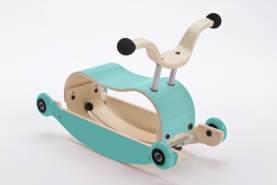 Wishbone Mini-Flip 3in1 Rutschfahrzeug Aqua