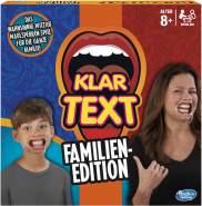 Hasbro 'Klartext Familien-Edition' Partyspiel, für 4 bis 10 Spieler, ab 8 Jahren