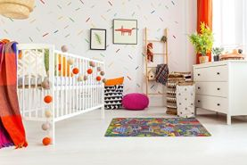misento Kinderteppich Straßenteppich 95 x 133 cm