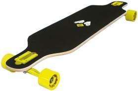 Streetsurfing Street Surfing Longboard Freeride 39', Design: Robot, Mehrfarbig, Zoll