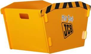JCB Spielzeugregal Regal Truhe Aufbewahrungsbox