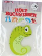 Besttoy Holzbuchstabe 'C' grün