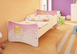 Best For Kids Kinderbett mit Schaummatratze 90x180 cm, pink