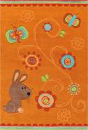Sam 4152 Orange Animals 140x200 cm