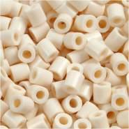 Bügelperlen, Größe 5x5 mm, Lochgröße 2,5 mm, Hellbeige 12, Medium, 6000 Stück
