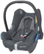 Maxi-Cosi 'Cabriofix' Babyschale 2020 Essential Graphite von 0-13 kg (Gruppe 0+)