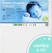 Babycalin 'Hygiene' Matratze 60x 120cm weiß