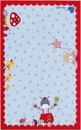 Böing Carpet 'Baby Glück - Sterne' Kinderteppich blau, 100x160 cm