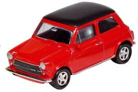 Metal Mini Cooper 1300: Red 7 cm