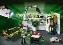 PLAYMOBIL - Robo Gangster Labor 4880