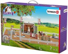 Schleich 42338 Horse Club Großes Reitturnier mit Reiterinnen und Pferden 42338