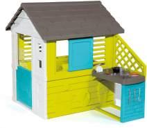 Smoby 810711 Pretty Spielhaus mit Sommerküche - für Kinder ab 2 Jahren