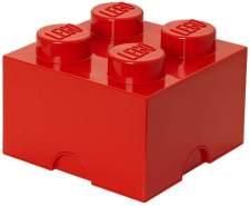 Lego 'Storage Brick 4' Aufbewahrungsbox rot