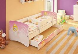 Best for Kids 'Angel' Kinderbett 80x160 pink