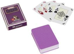 Modiano Texas Poker 4 Mini Index lila Texas Poker