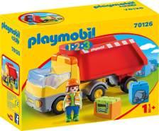 Playmobil 1.2.3 70126 'Kipplaster', 6 Teile, ab 1,5 Jahren