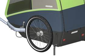 Croozer Parking Support for Dog Jokke/Bruuno schwarz 2020 Fahrradanhänger