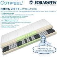 Schlaraffia 'Highway 240 TFK ComFEEL' 7-Zonen Taschenfederkern-Matratze H2, 100 x 200 cm