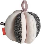 Sensorikball, Puzzleball, Baby Spielball, in rose, aus Bio Baumwolle, von OYOY