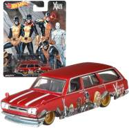 Cars Mattel DLB45 - Nissan Skyline Van - Pop Culture X-Men | Hot Wheels Premium Auto Set