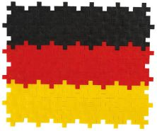 Plus Plus 4072 Tube-Mini Deutschland 100 pcs