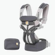 Ergobaby 'Omni 360' Babytrage 4-Positionen Cool Air Mesh Carbon Grey