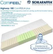 Schlaraffia 'Highway 180 ComFEEL' 7-Zonen Kaltschaum-Matratze H2, 90 x 200 cm