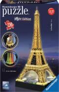 Ravensburger - 3D Puzzle - Eiffelturm bei Nacht, 216 Teile