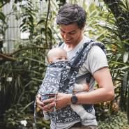LIMAS Flex Babytrage Flora Cool Grey