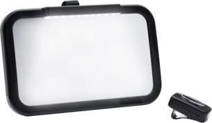Autospiegel schwarz mit LED VE10