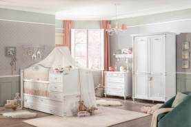 Cilek 'Romantic' 4-tlg. Babyzimmer-Set