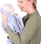 Schmusewolke Babydecke Musselin Ankerliebe 120x120cm