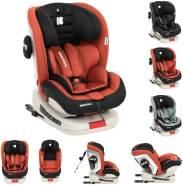 Kikkaboo Kindersitz Strong Isofix Gruppe 0+/1/2/3 (0 - 36 kg), 5-Punkt-Gurt orange