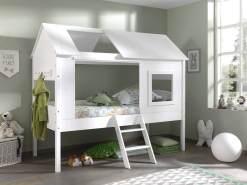 Vipack 'Charlotte' Hausbett, Weiß, 90 x 200 cm