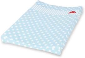 Pinolino 'Glückspilz' Wickelauflagenbezug blau, 71x51 cm