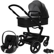 Joolz 'Day+' Kombikinderwagen Brilliant Black inkl. Cybex Cloud Z Plus Babyschale Deep Black