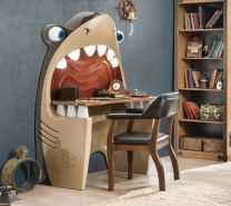 Cilek PIRATE Shark Computertisch Hai Schreibtisch Tisch Kinderzimmer Haifisch