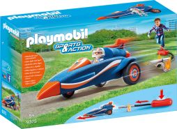 PLAYMOBIL Sports & Action 9375 Stomp Racer mit Booster, Ab 5 Jahren