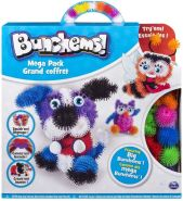 Spin Master 6026103 (20090568) - Bunchems - Mega Pack 400 Teile inklusive Accesoires, Hund