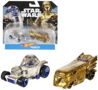 Hot Wheels - R2 D2 & C-3PO - Character Autos im 2-er Pack | Die-Cast | Star Wars
