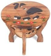 """Brink Holzspielzeug Tisch """"Elefant"""" mit Blumen"""